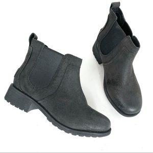 UGG Bonham Ankle Boot II Black Size 6 New